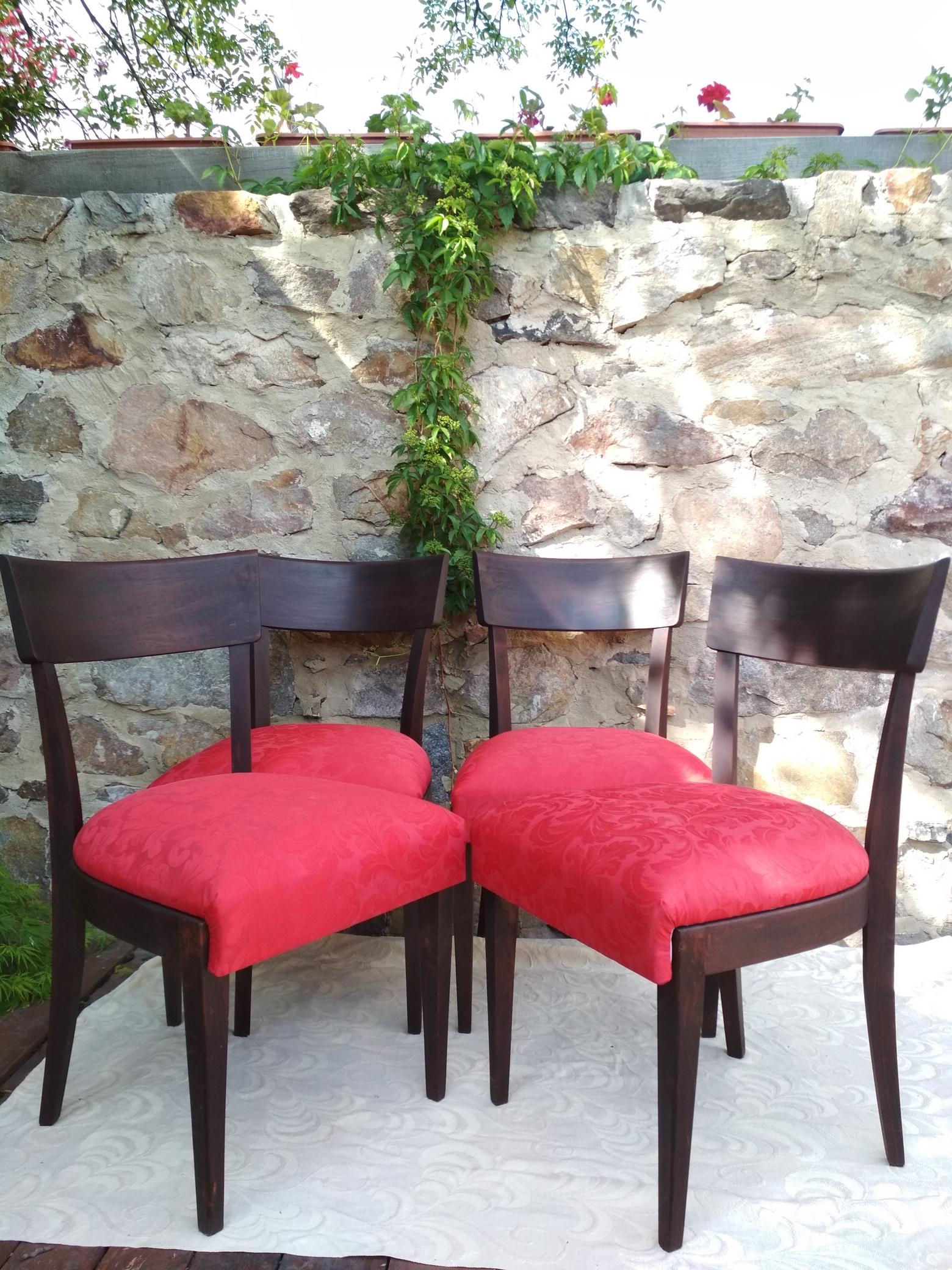 Židle J. Halabala H223 – set 4 kusů